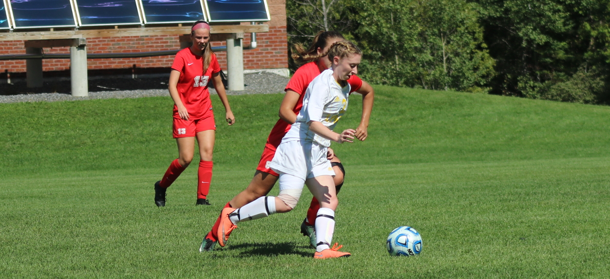 Thomas notches two second half goals to defeat Hornet women in NAC opener
