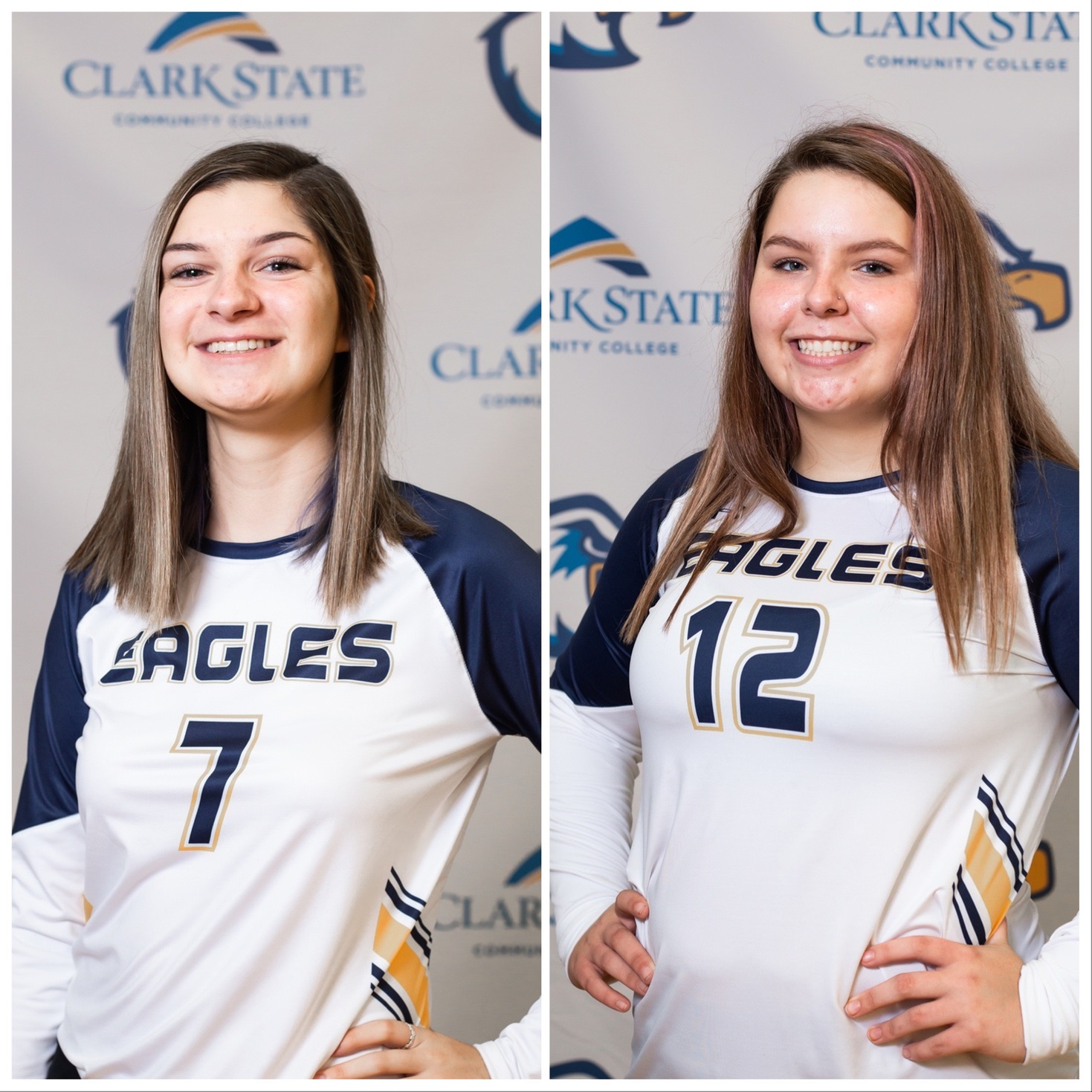 Hannah Walls (7) was selected to both the All-OCCAC First Team and the All-OCCAC Freshman Team. Taylea Achtermann (12) won a spot on the All-OCCAC Honorable Mention Team.