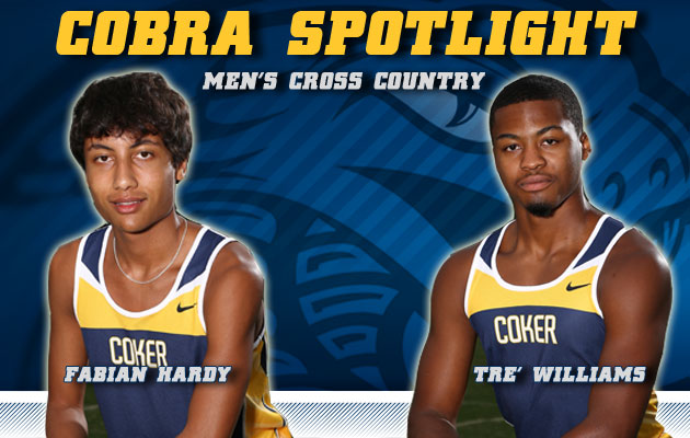Cobra Spotlight- Fabian Hardy & Tre' Williams, Men's Cross Country