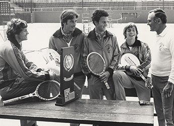1978 Kalamazoo College Men's Tennis Team