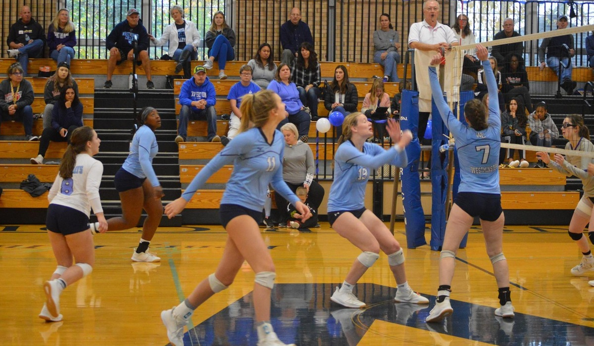 Westminster Volleyball Defeats Principia in Regular Season Finale