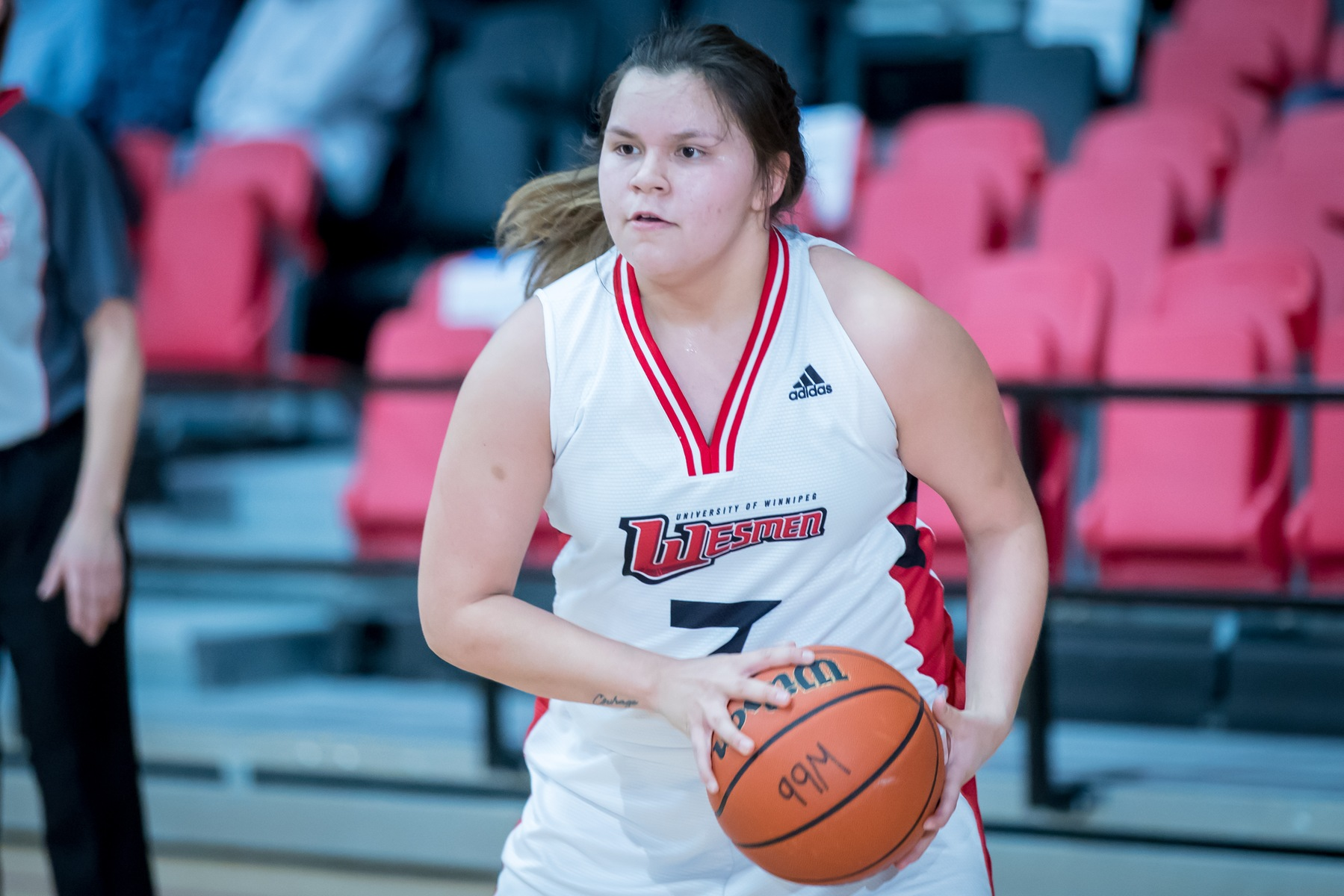 Robyn Boulanger hit four three-pointers off the bench and finished with 12 points Friday night in Regina. (Kelly Morton photo)