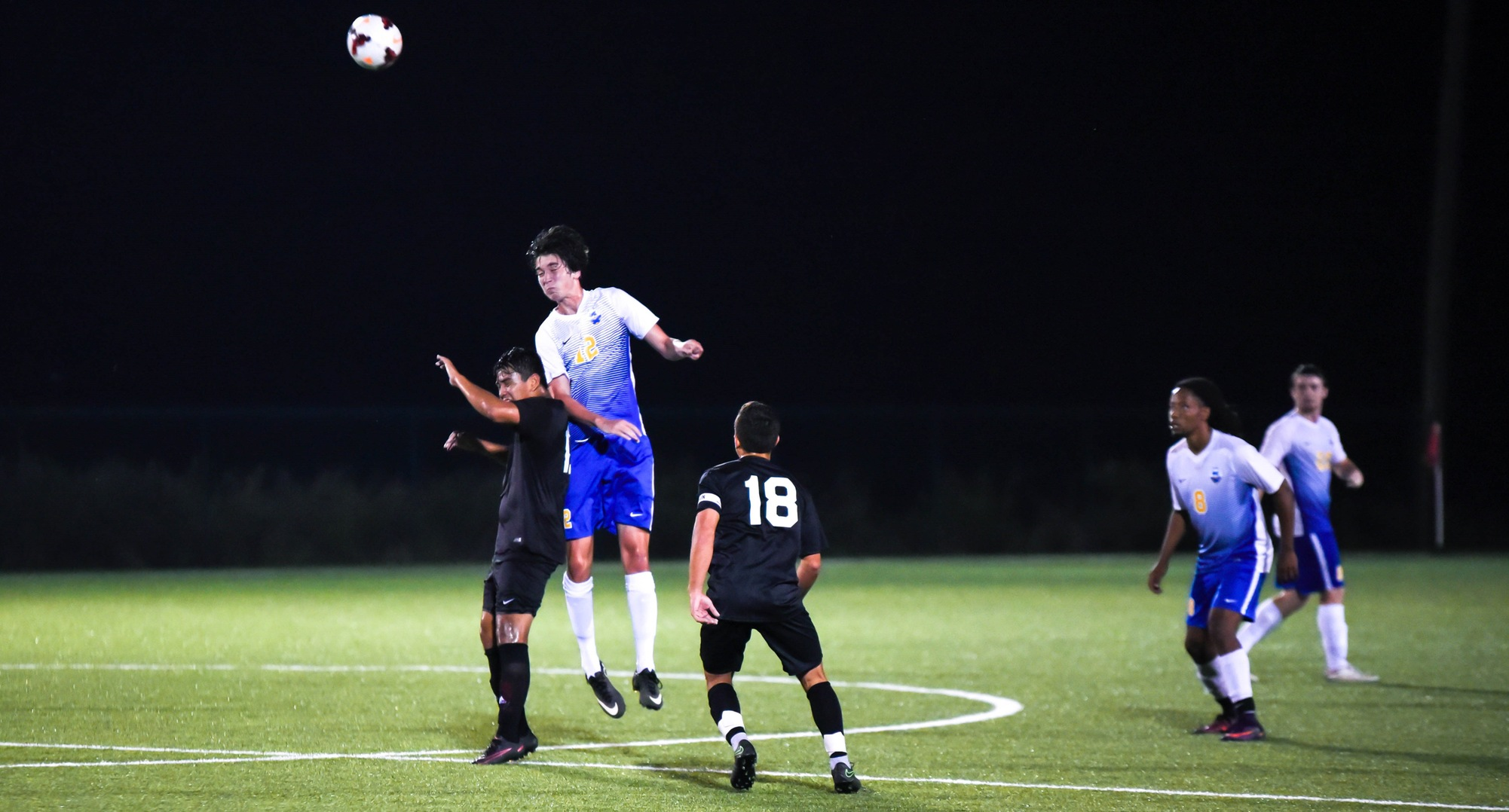 Men's Soccer Rolls on With 5-0 Win over Oxford