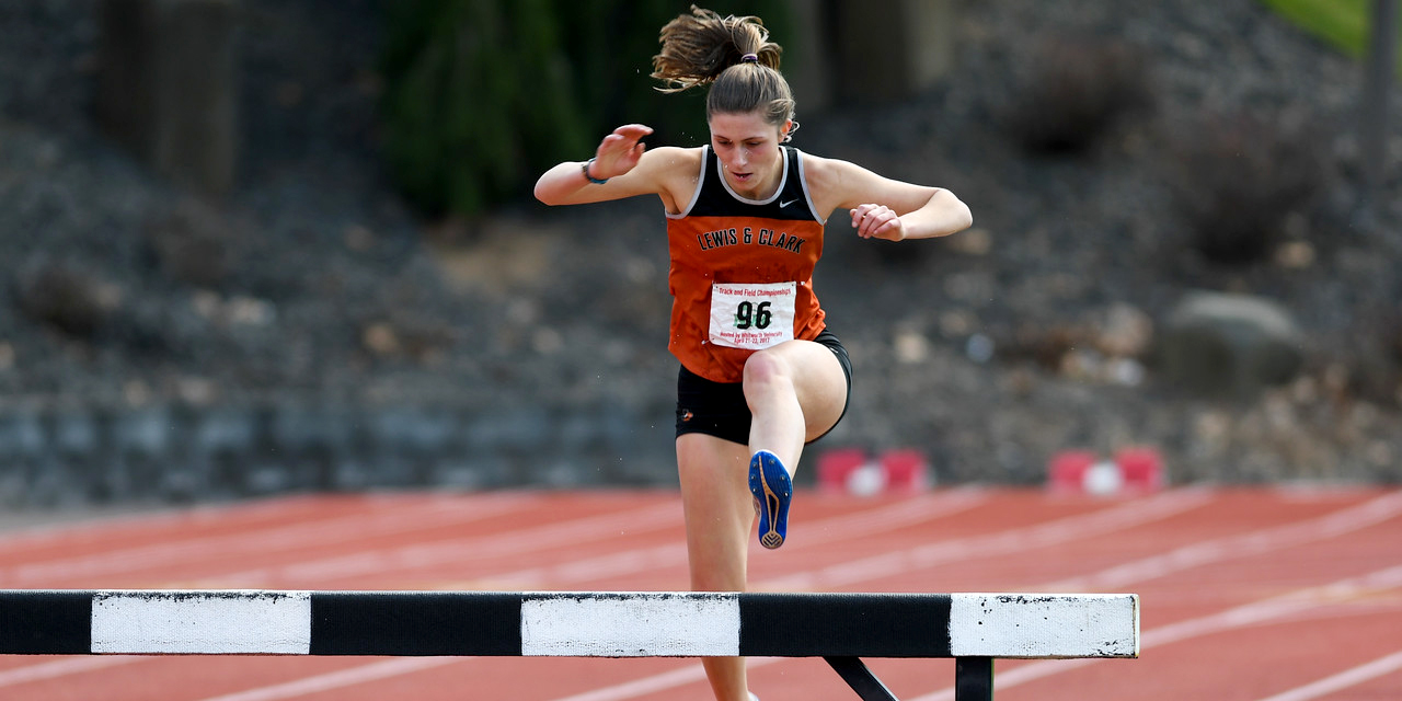 Swanson breaks school record in steeplechase