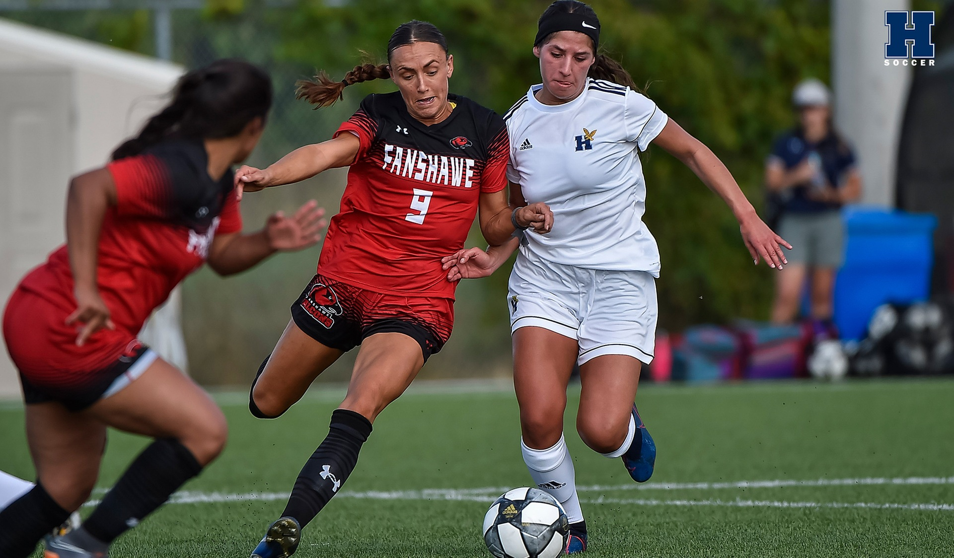 Women's Soccer Battles No. 3 Fanshawe to a 1-1 Draw