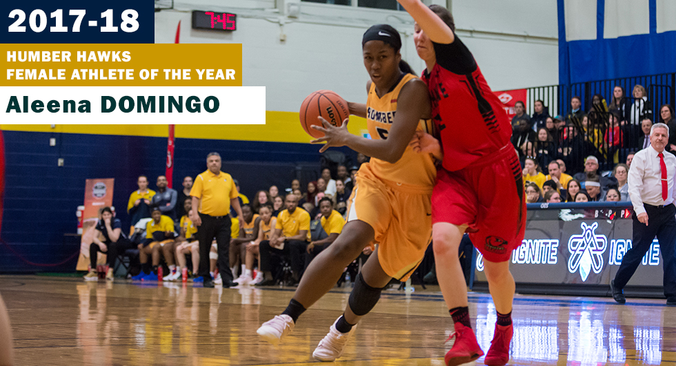 DOMINATING DOMINGO TABBED AS HUMBER ATHLETE OF THE YEAR