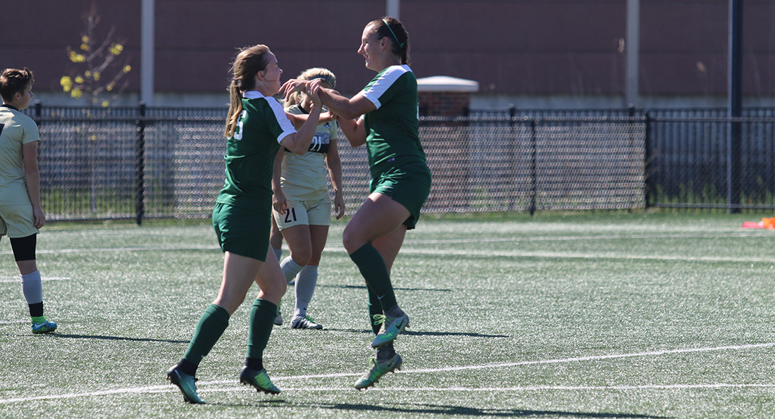 The Dragons earned their first GLIAC win of the year, defeating Purdue Northwest 5-1.