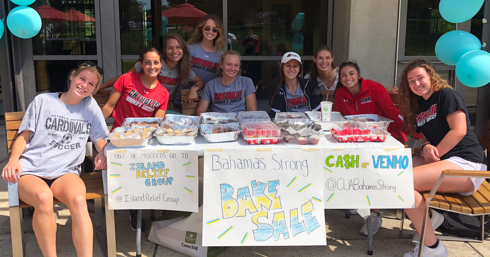 Women's Soccer Raises Over $2,000 for Hurricane Relief