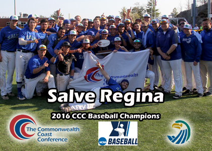 Salve Regina Wins Twice to Claim CCC Baseball Crown