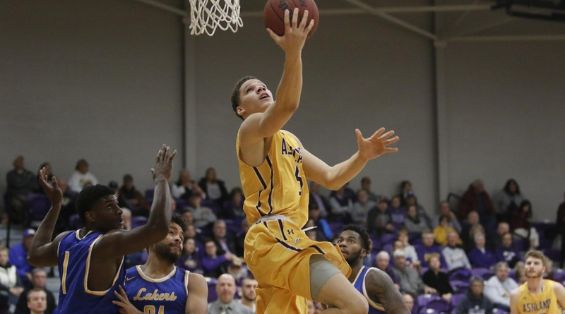 Thompson, Caldwell Lift Eagles To GLIAC-Opening Win