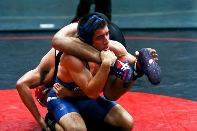File Photo: Rudy Delgado won both of his matches at the Southern Regional Team Duals.