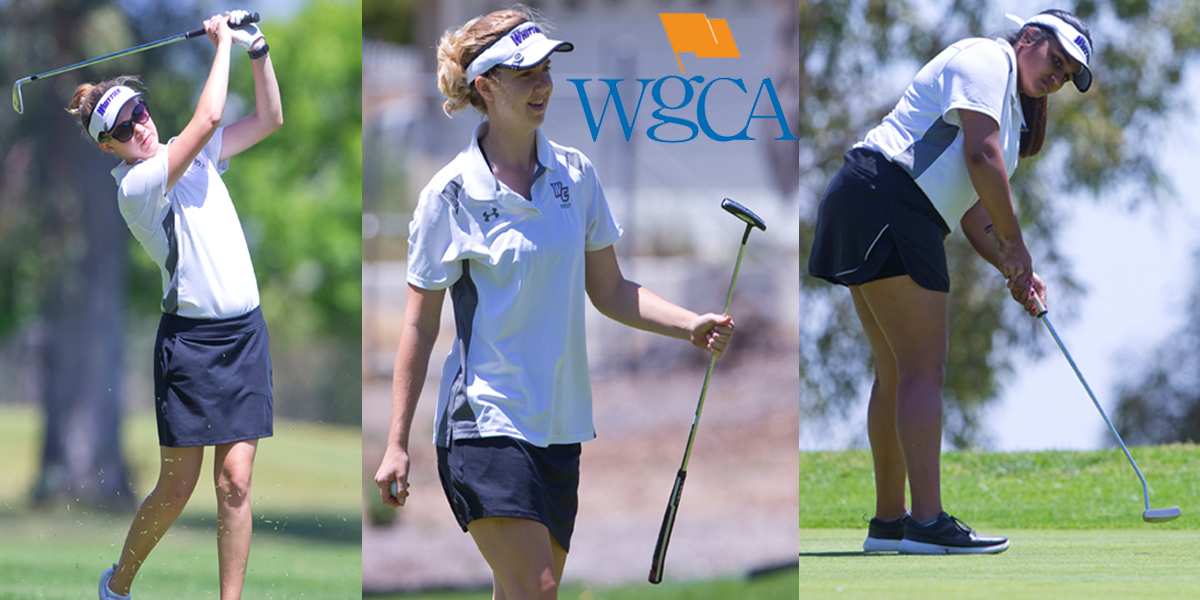 Ciara Clark, Kajal Vitha, and Taylor Beckwith named WGCA Scholar All-Americans