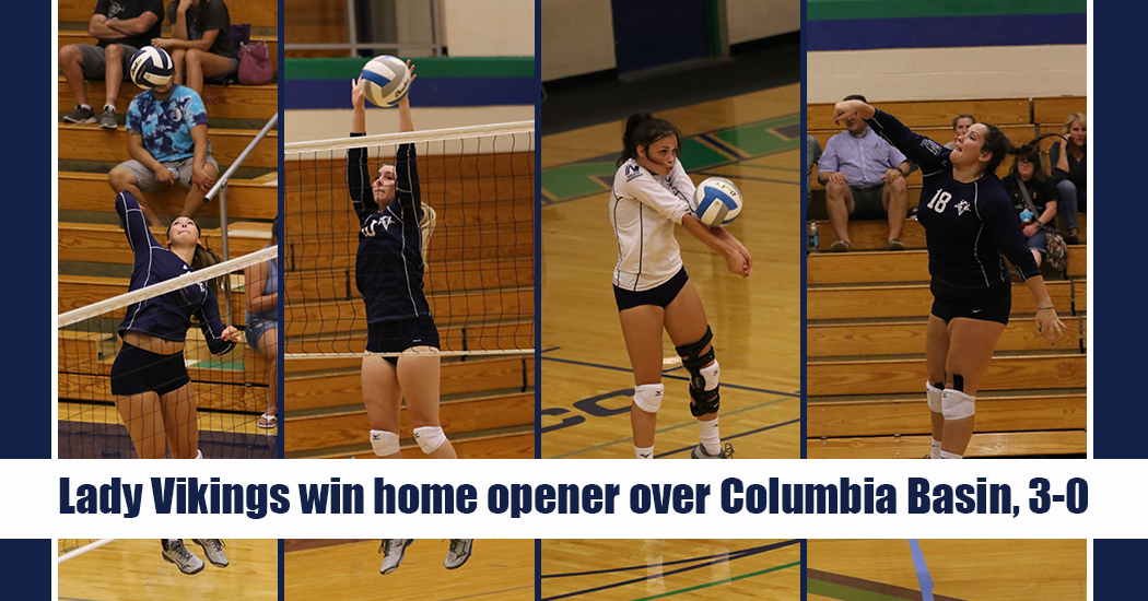 The Lady Vikings took three straight sets from Columbia Basin on Wednesday evening winning their home opener. Big Bend will be back in action at home tonight (Thursday, Sept. 6) at 4 p.m. against Linn-Benton.