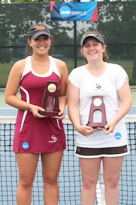 Kristin Lim Wins NCAA Division III Singles Title