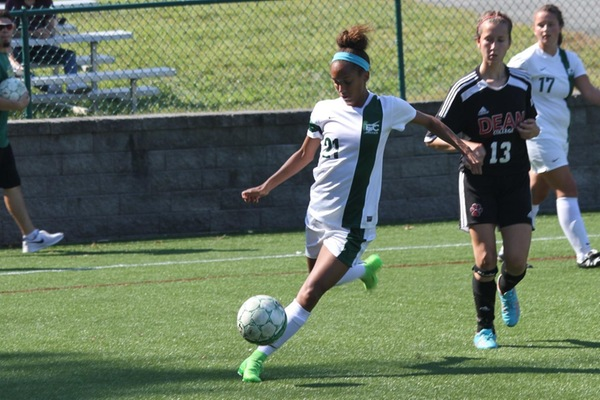 Women's Soccer Opens NECC Play With Road Win