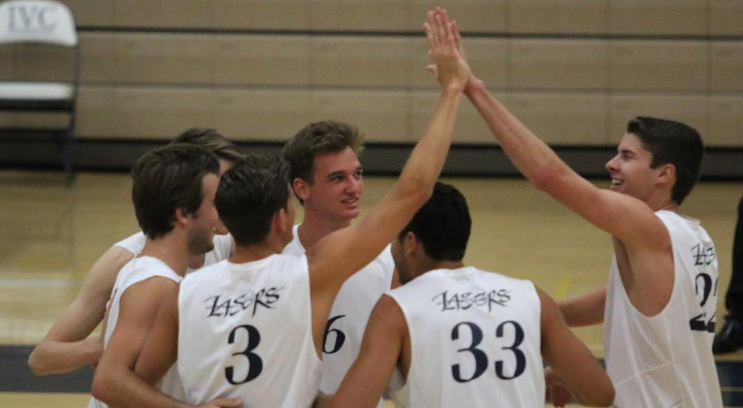 Four men's volleyball players selected all-conference