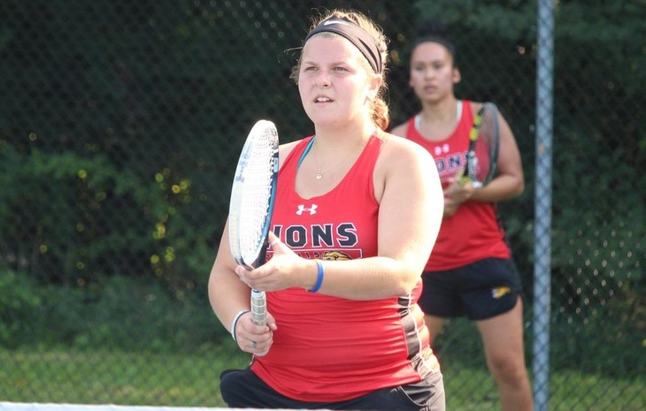 Women's Tennis Secures CCC Playoff Spot with 6-3 Win Over Salve Regina