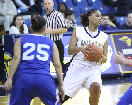 Gallaudet women's basketball remains ranked No. 24 in the nation