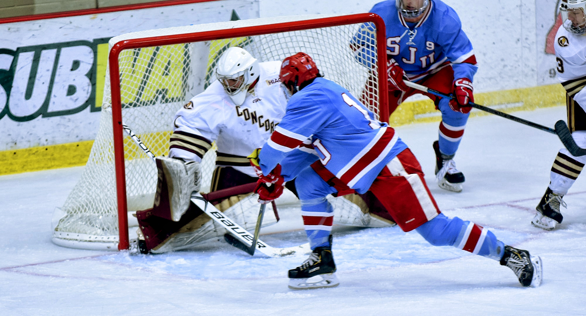 Senior goalie Jacob Stephan made 25 saves and stopped the lone shootout attempt as the Cobbers took five points on the weekend at St. John's. Stephan is unbeaten in his last three games.