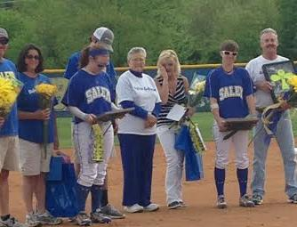 Softball celebrates Kennedy and Bass this week
