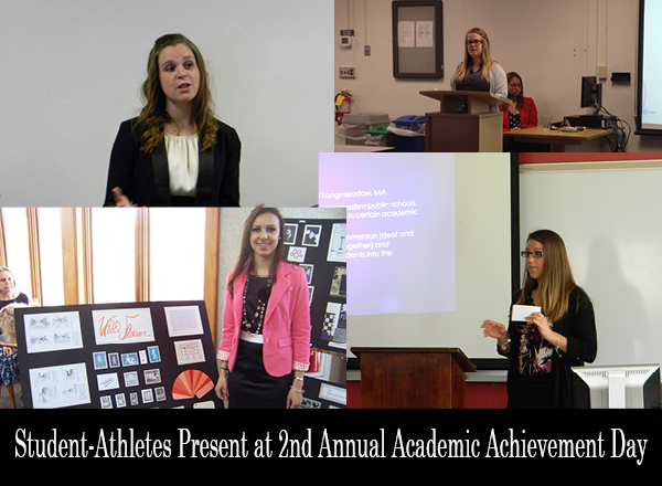 Student-Athletes Present and are Recognized at the 2nd Annual Academic Achievement