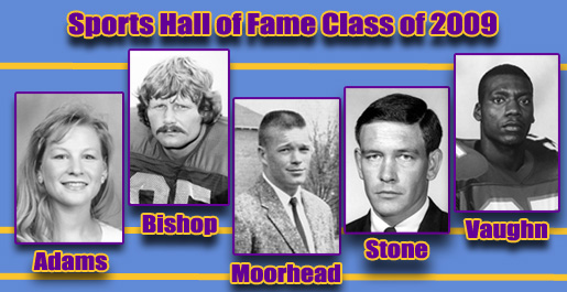 Five chosen for induction Oct. 30 into Tech Sports Hall of Fame