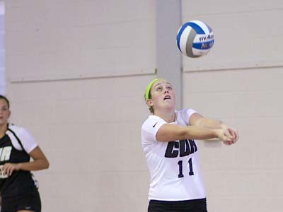 CUA sweeps Mariners before dropping tough five-set decision to Eagles