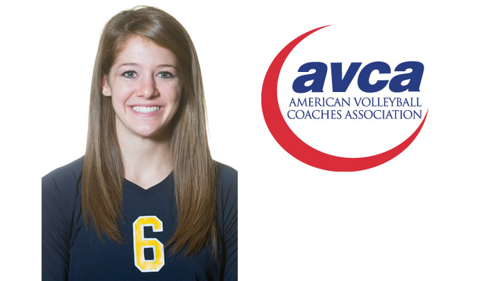 Kelly Schuh Selected to AVCA All-Region Team