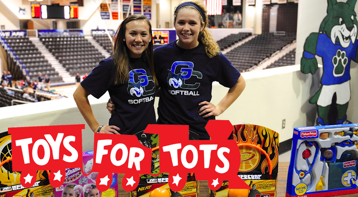 GC Softball to Hold Toys for Tots Drive Monday