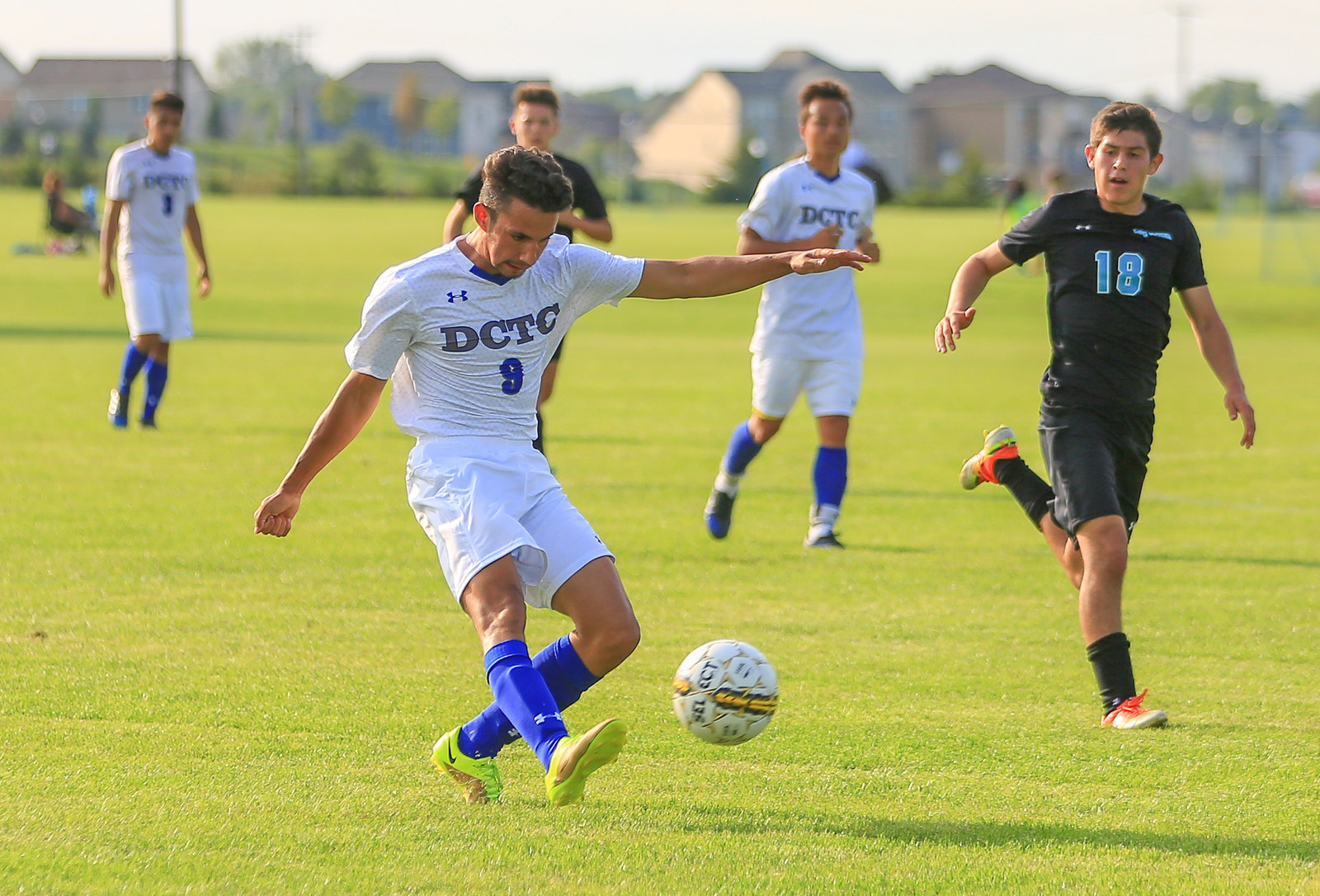 Men's Blue Knights Soccer Heads Into Conference Play