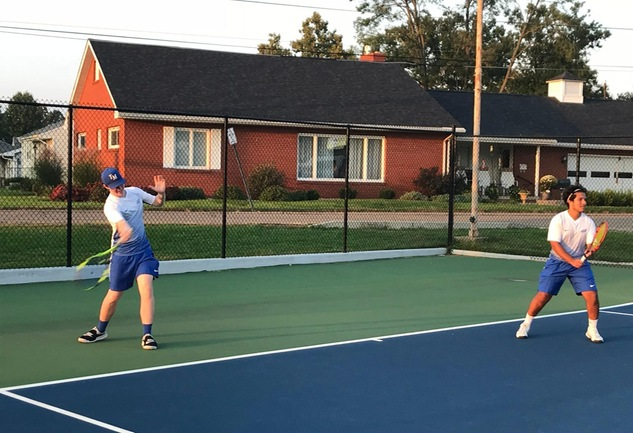 Men's Tennis Takes Down Muskingum, 9-0