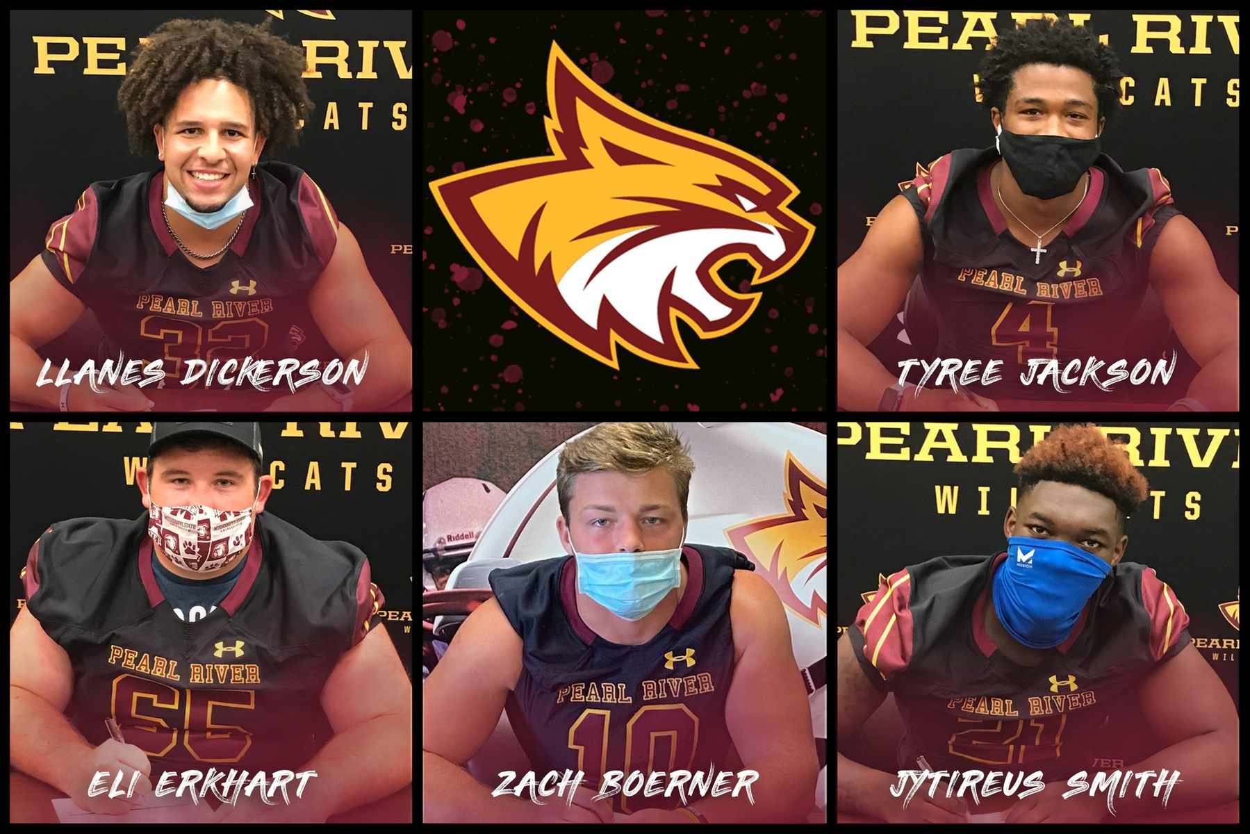 Pearl River football adds 5 Wildcats prior to preseason camp