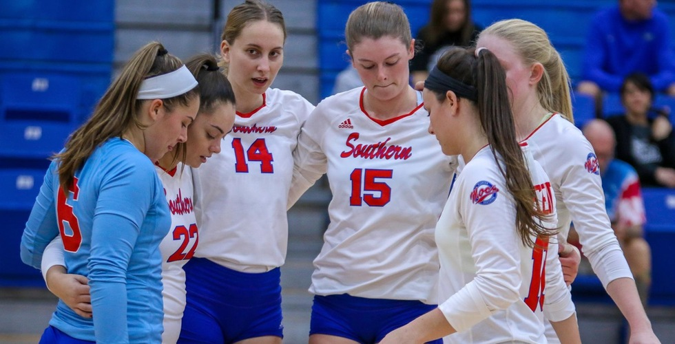 Volleyball's Season Ends in South Region Semifinals