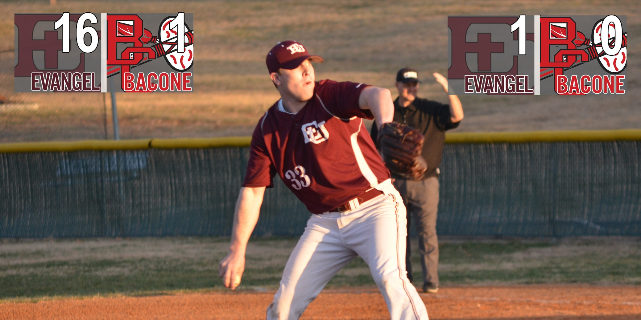 Crusaders Quiet Bacone Bats to Finish Sweep