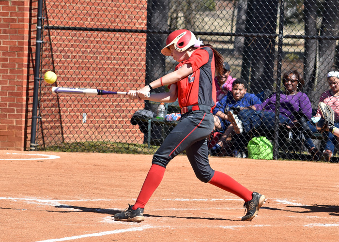 Lindsey Selph was 3-for-4 with a solo home run in Saturday's doubleheader with North Carolina Wesleyan. Selph was also the winning pitcher in Game 2.