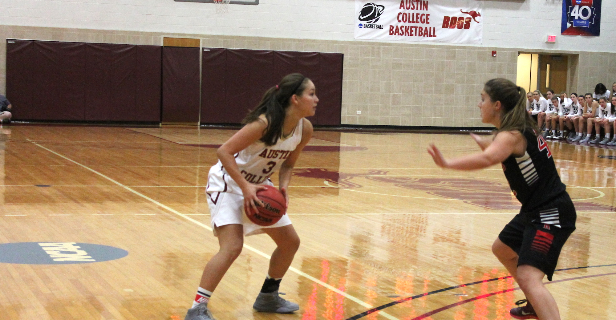 Women's Hoops Cruises to 80-40 Win Over Dallas