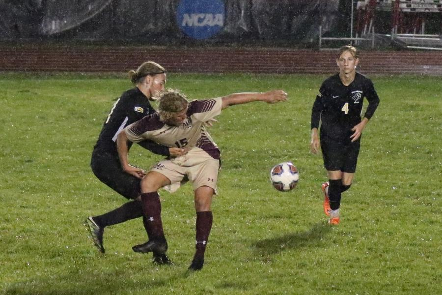 Walsh, Rain Falls In First Of Two Contests With ODU