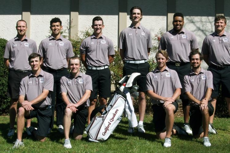 2016-17 Guilford College Men's Golf Team (John Bell photo, Touch A Life Photography)