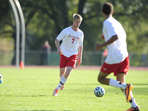 Men's Soccer Picked Second in Centennial Preseason Poll