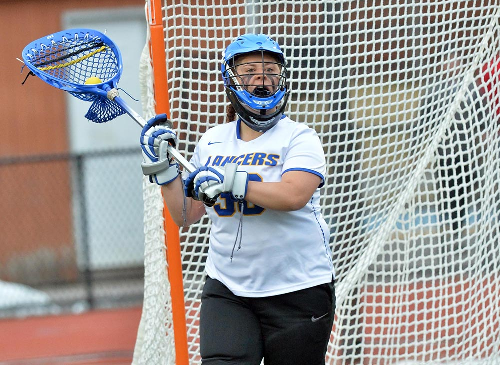 "O'Brien Stops 20 Shots to Help Lancers to 10-6 ""One Love"" Win over UMass Dartmouth"