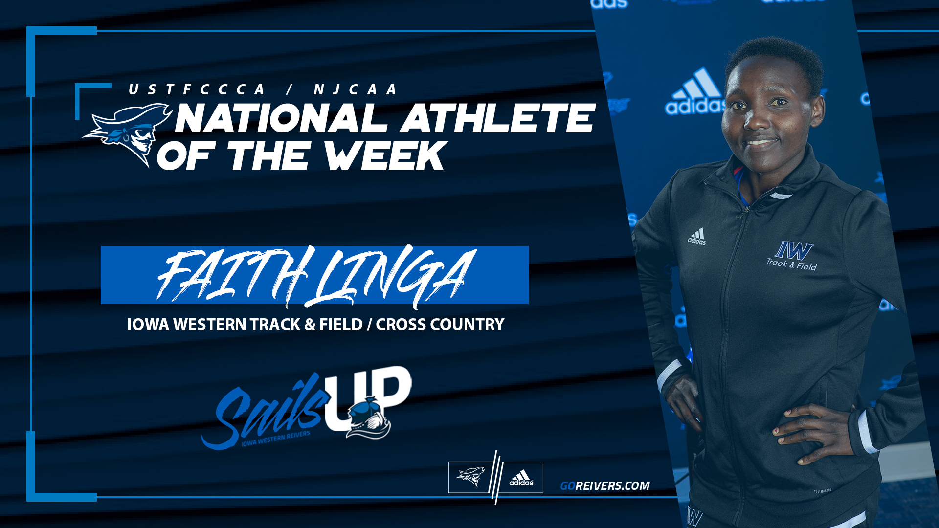 Faith Linga Named USTFCCCA Athlete of the Week