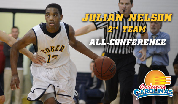 Coker's Nelson Named Second Team All-Conference