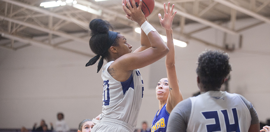 Concordia Women Pull Out Victory