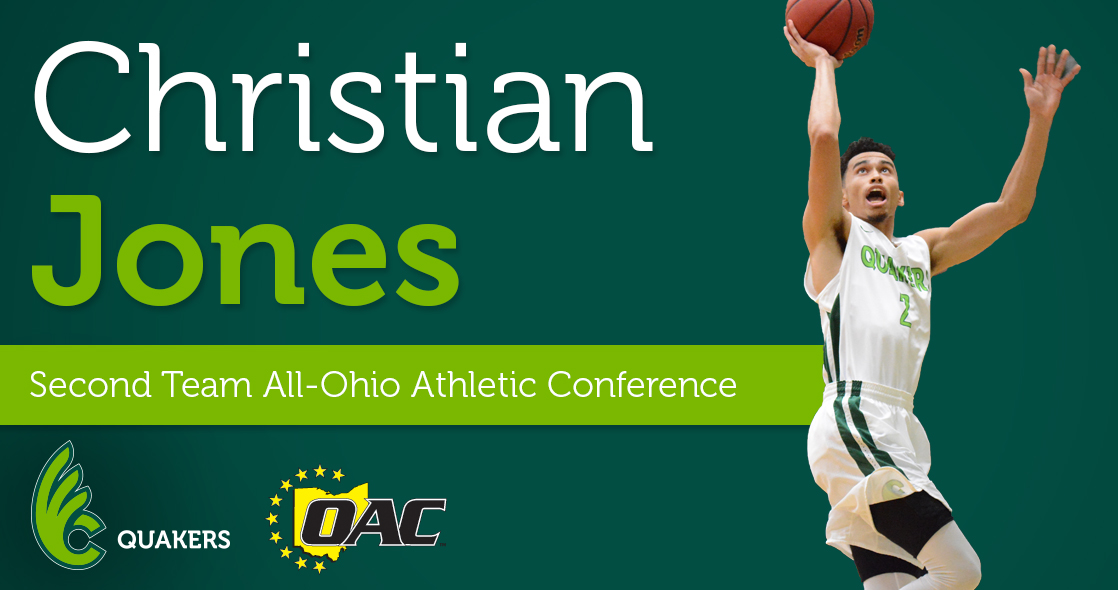 Christian Jones Named Second Team All-OAC
