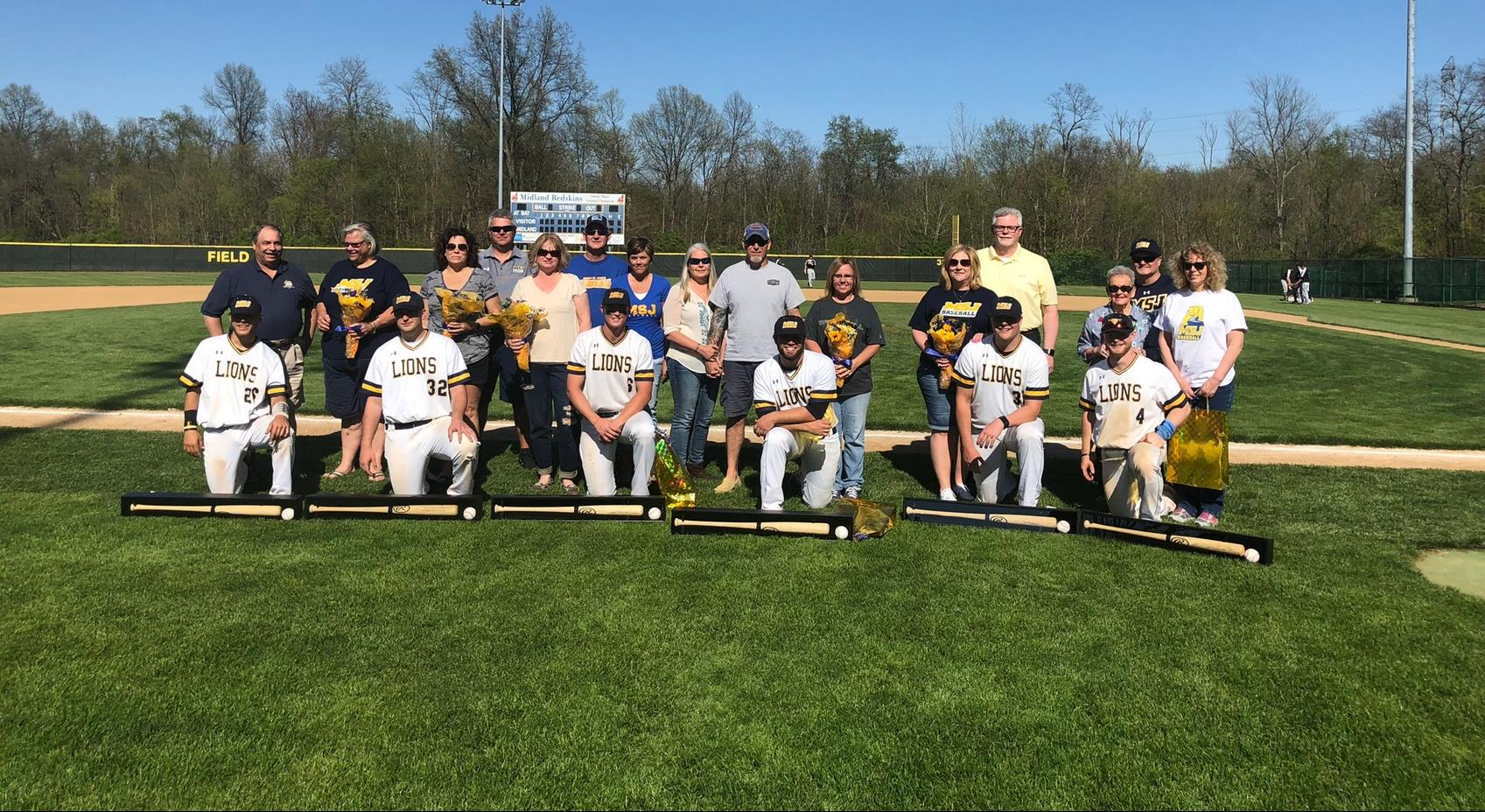 Mount St. Joseph baseball honors their six seniors