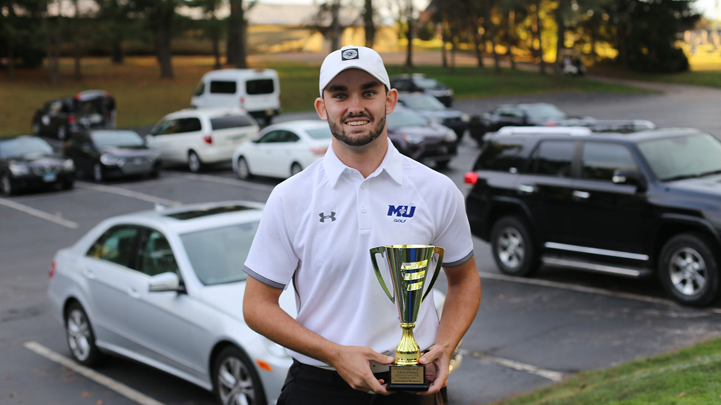 Coffin wins first individual championship, as Saints take 10th in Gettysburg Fall Invitational