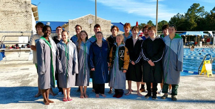 Ware County Swim Team Competes in First Meet of the Season