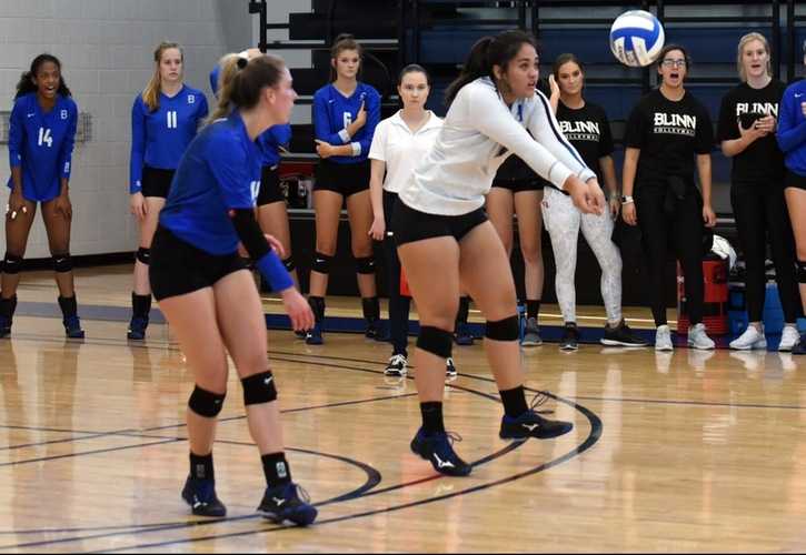 Buccaneers Sweep Wharton to Open Conference