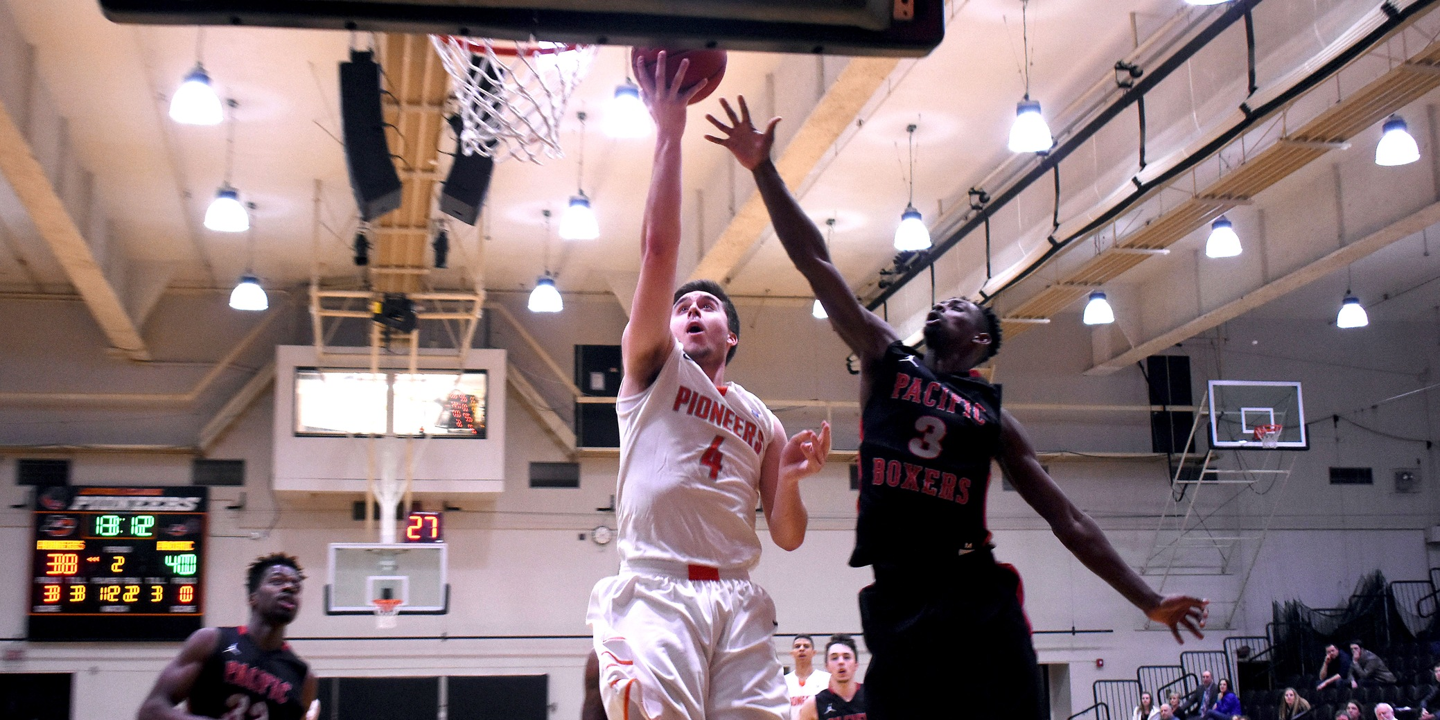 Despite a second-half surge, Pioneers defeated in final home game