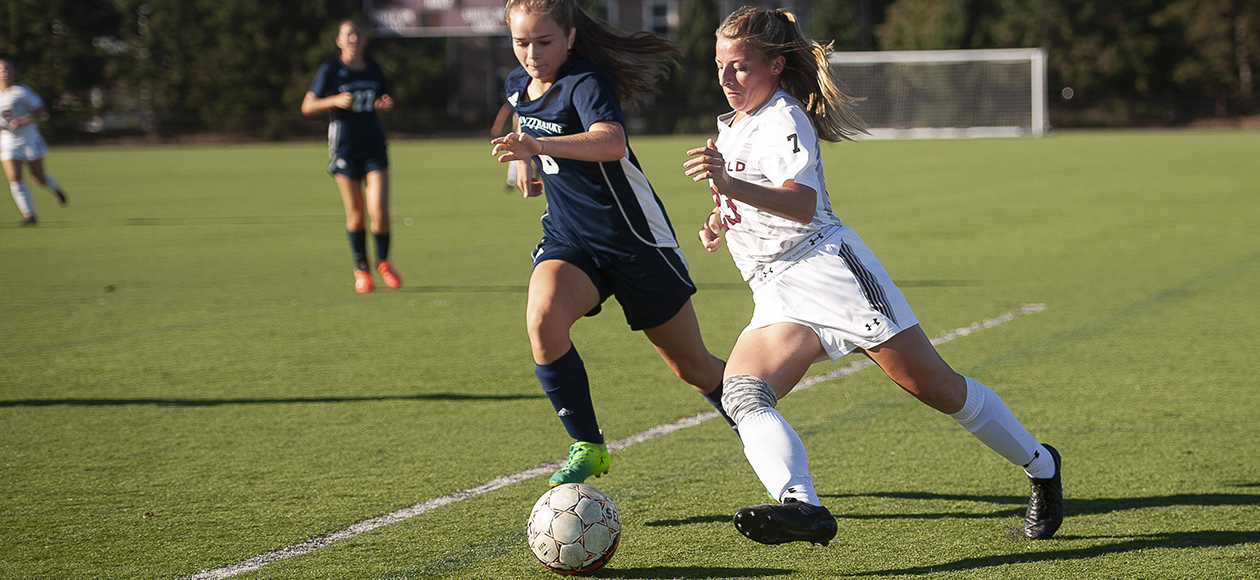 Wright's Overtime Strike Lifts Women's Soccer Past Wheaton, 3-2